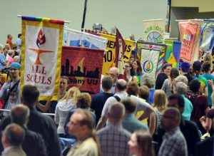Welcome and Opening Celebration for GA 2016. Photo © 2016 Nancy Pierce/UUA
